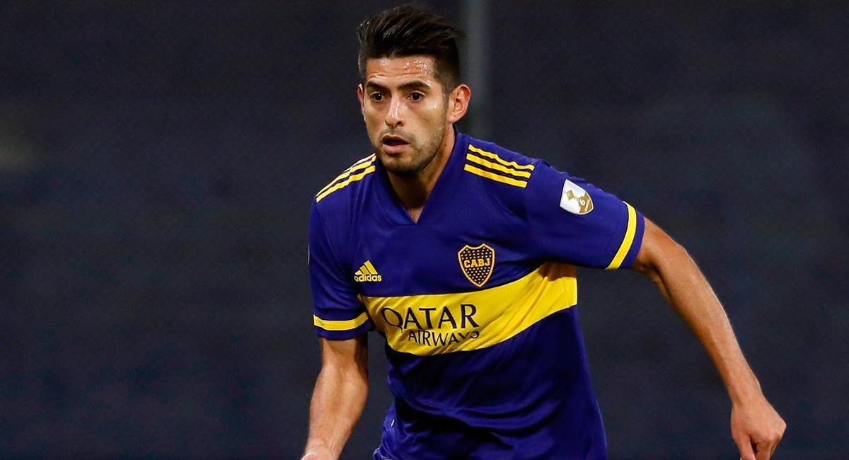 Carlos Zambrano volvió al titularato de Boca después de un mes y medio. Foto: Twitter
