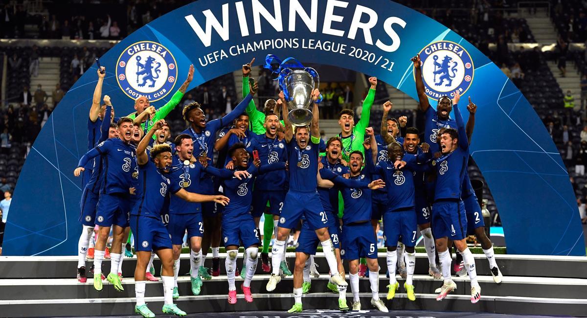 Chelsea consiguió su segunda Champions League. Foto: EFE