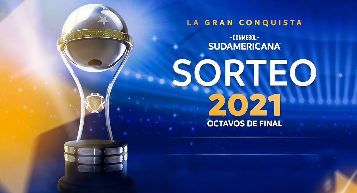 Copa Sudamericana llega a su fase de octavos de final. Foto: Twitter Conmebol Sudamericana
