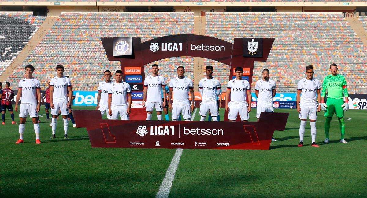 San Martín tendrá dos bajas en la final de la Fase 1. Foto: Twitter @LigaFutProf