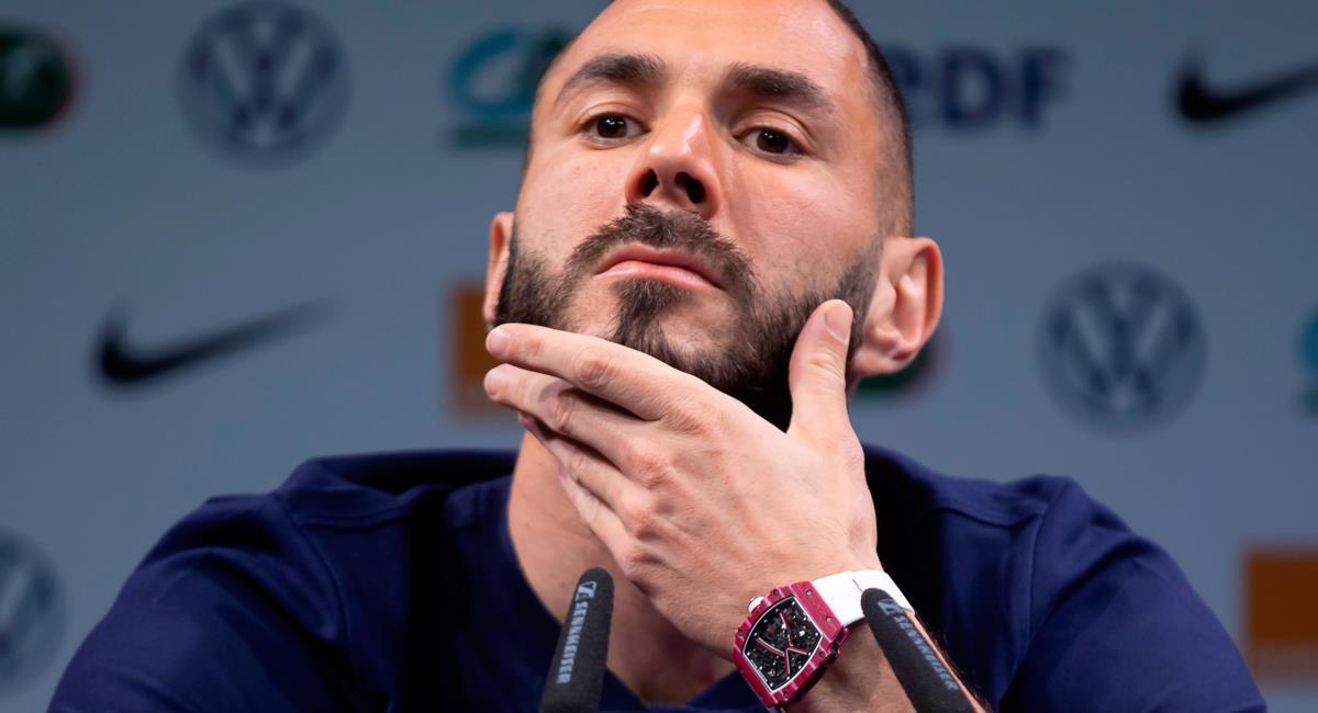 Karim Benzema dio declaraciones sobre salida de Zidane. Foto: EFE