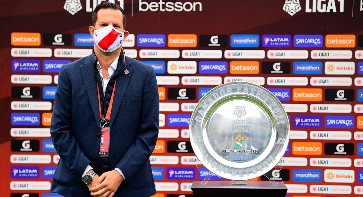 Víctor Villavicencio dio detalles de la Fase 2 de la Liga 1. Foto: Twitter @LigaFutProf