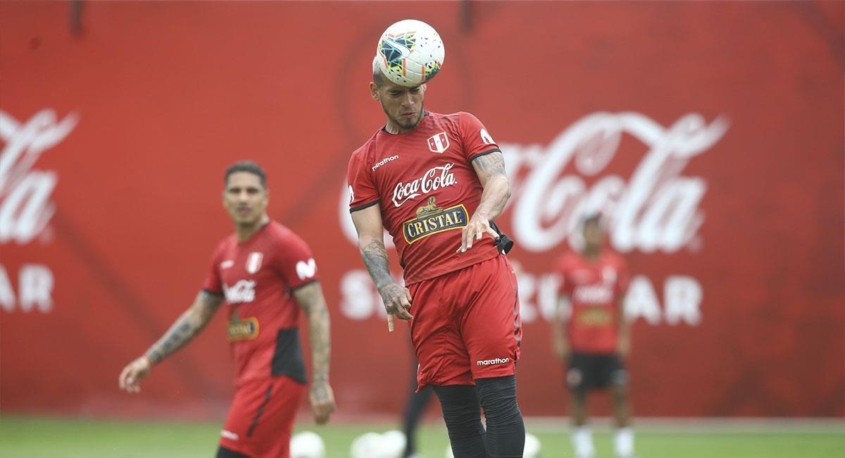 Selección Peruana se prepara para partido ante Colombia. Foto: FPF
