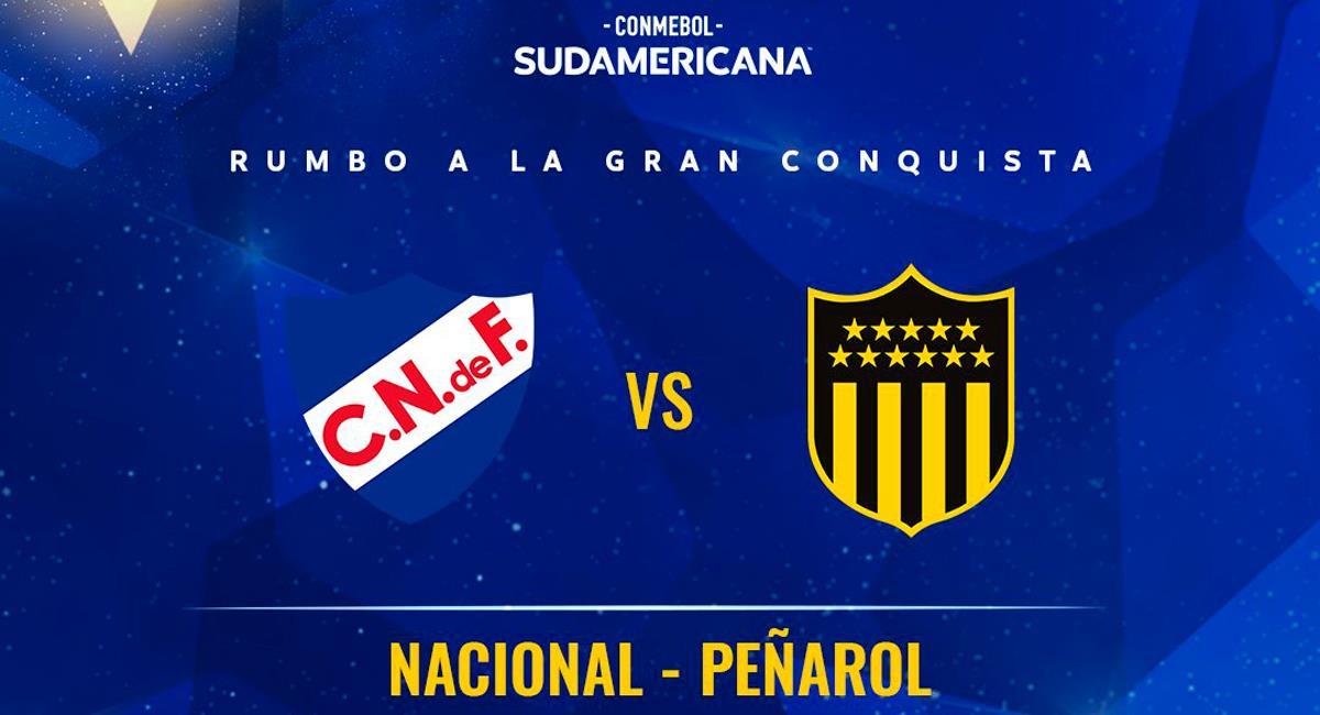 Nacional y Peñarol se verán las caras en octavos de Copa Sudamericana. Foto: Twitter @Sudamericana