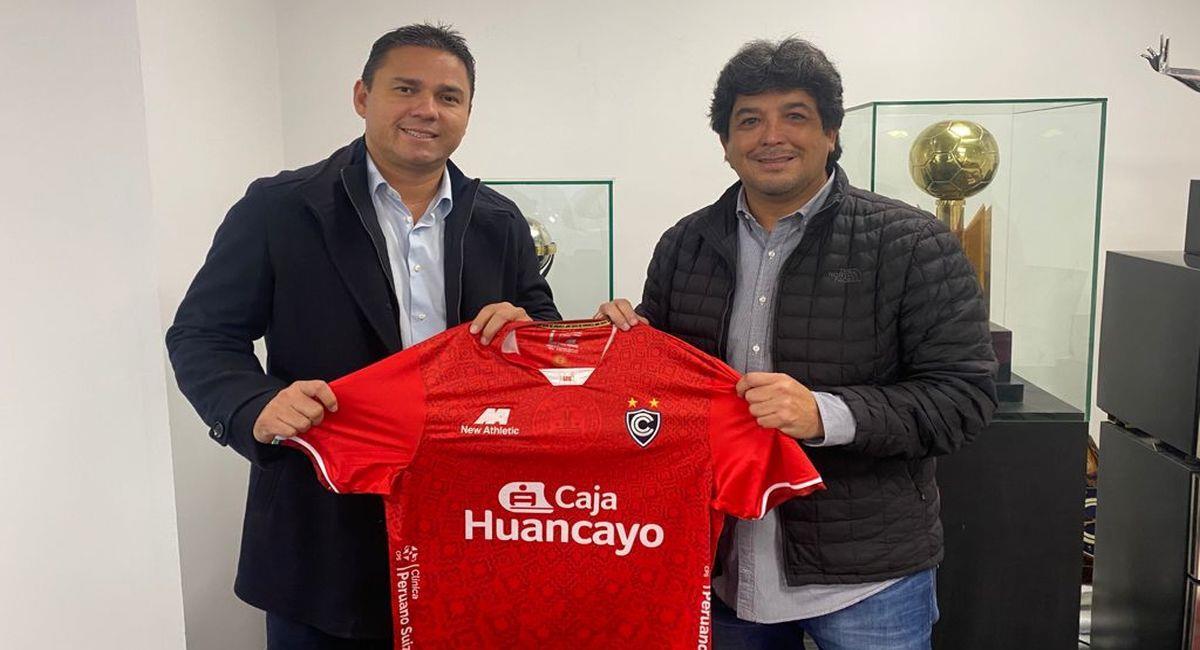 Víctor Rivera, nuevo entrenador de Cienciano. Foto: Twitter Club Cienciano