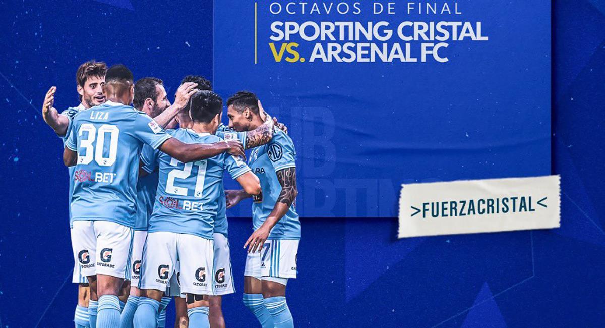 Sporting Cristal quiere hacer un buen rol en la Sudamericana. Foto: Twitter Club Sporting Cristal