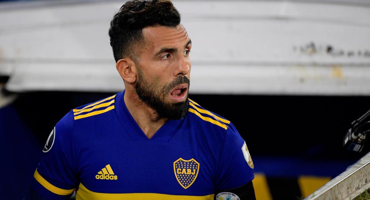 Carlos Tévez se despide de Boca Juniors a los 37 años. Foto: EFE