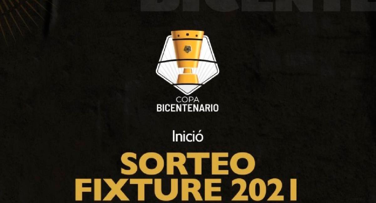 Copa Bicentenario iniciará el próximo 10 de junio. Foto: Twitter @LigaFutProf