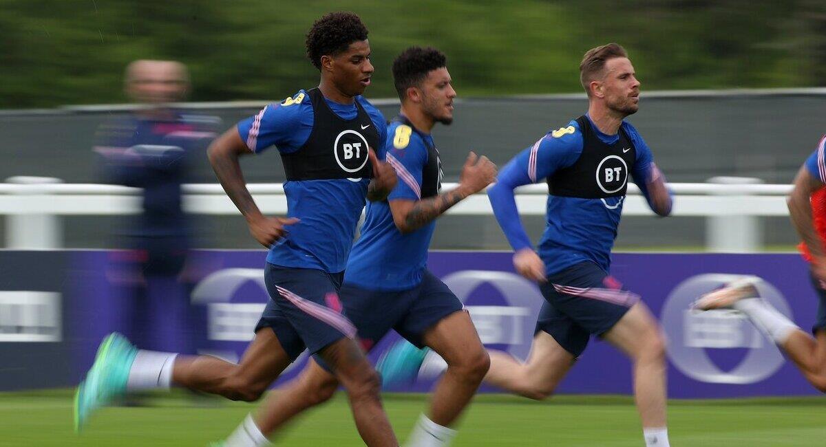 Inglaterra se alista para su duelo amistoso ante Rumania. Foto: Twitter @England