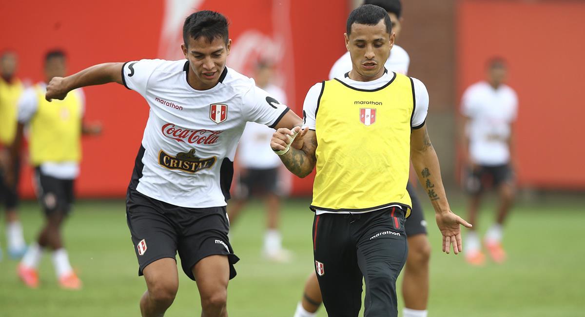 Entrenamiento de la Selección Peruana. Foto: Twitter Selección Peruana