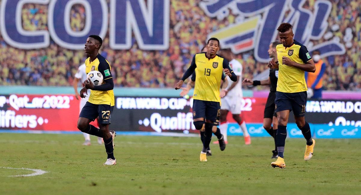 Perú vs. Ecuador: Gol de Ecuador. Foto: EFE