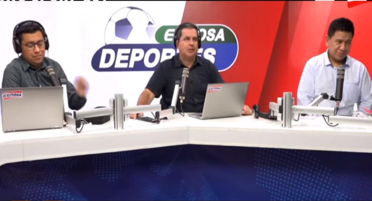 Gonzalo Núñez dejó en claro que Ecuador golearía a Perú. Foto: Youtube Captura Exitosa Deportes