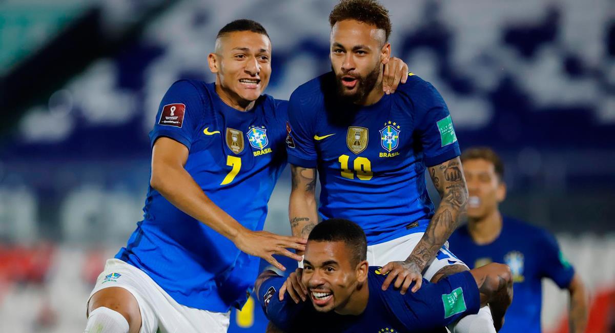 Brasil dio lista de 24 futbolistas convocados para Copa América 2021. Foto: EFE