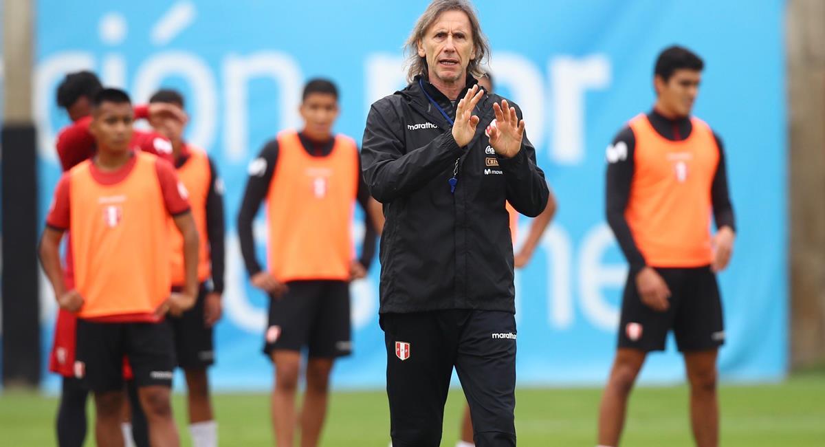 Ricardo Gareca dará lista de convocados para Copa América 2021. Foto: Twitter @SeleccionPeru