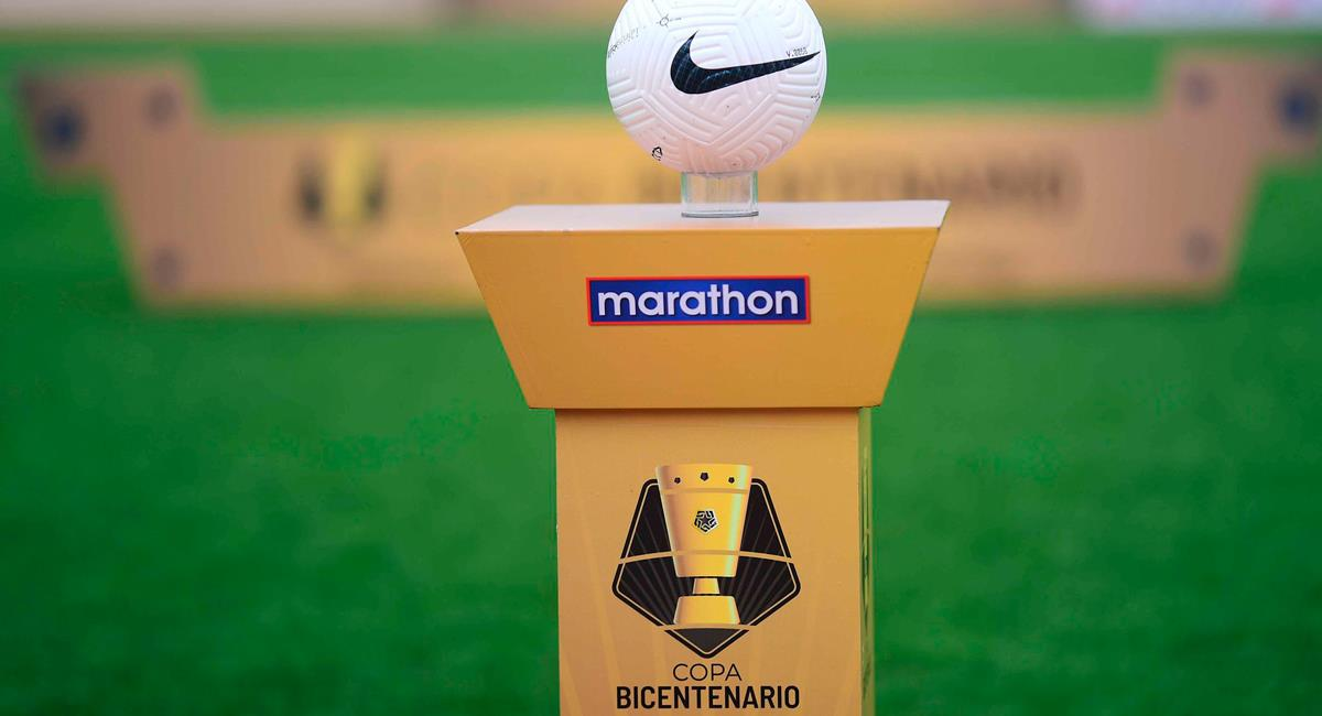 Copa Bicentenario 2021. Foto: Twitter @LigaFutProf