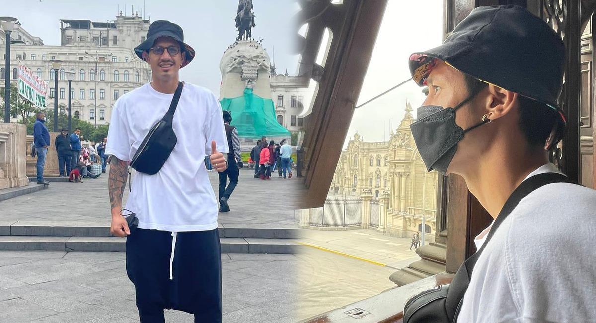 Lapadula paseó por Lima. Foto: Instagram @gianluca_lapadula_official