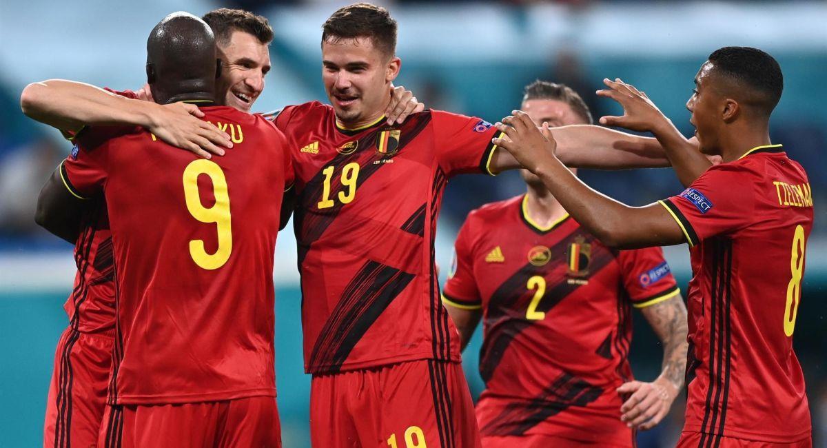 Bélgica goleó a Rusia en su estreno en la Eurocopa. Foto: EFE