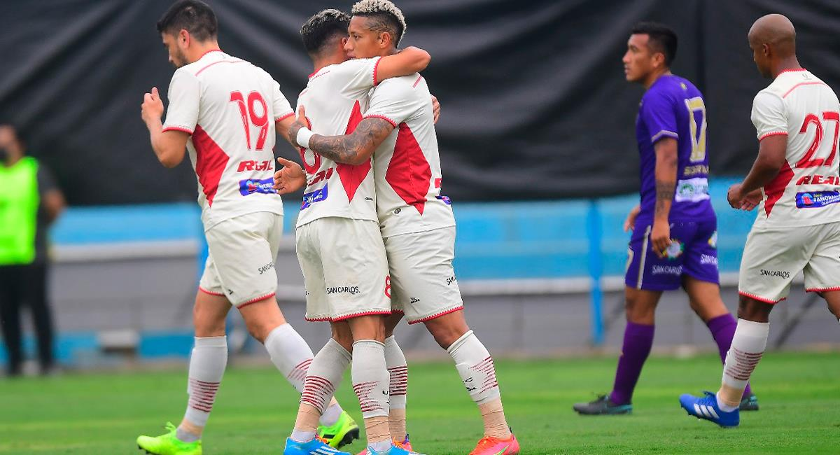 Leonardo Villalba marcó el único gol del encuentro. Foto: Twitter @LigaFutProf