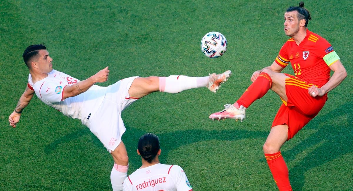 Gales y Suiza igualaron este sábado en el inicio de la Eurocopa 2021. Foto: EFE