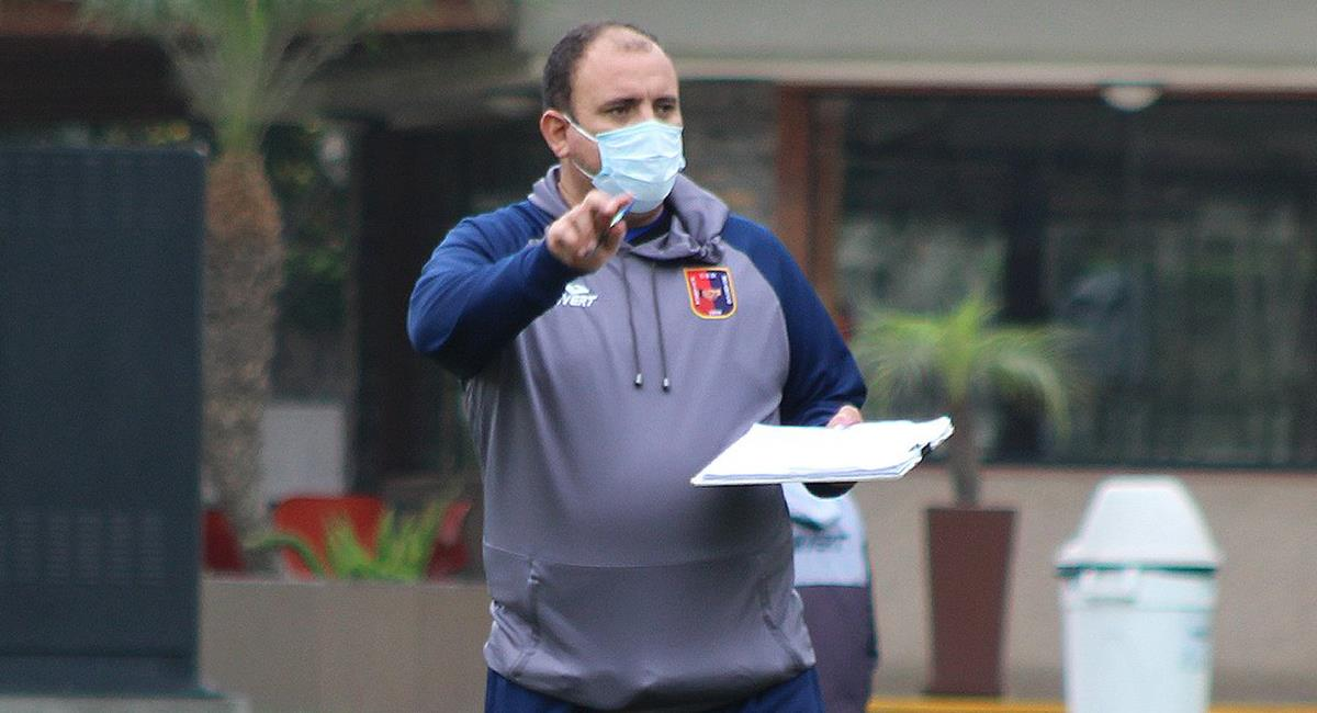 Revollar dejó de ser DT de Alianza UDH. Foto: Twitter Alianza Universidad
