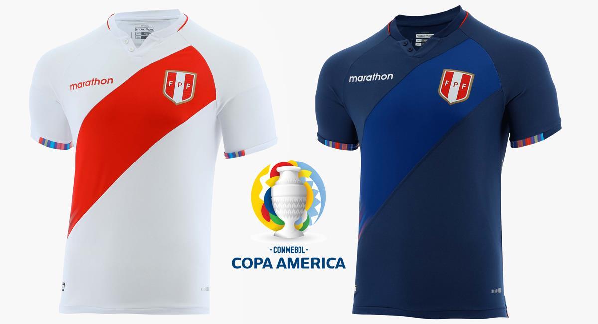 Camisetas de la Selección Peruana. Foto: Marathon