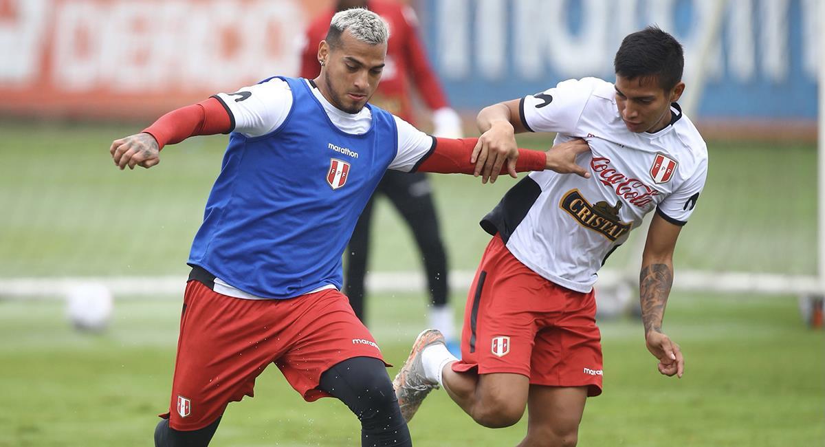 Selección Peruana volvió a los entrenamientos. Foto: Twitter Selección Peruana