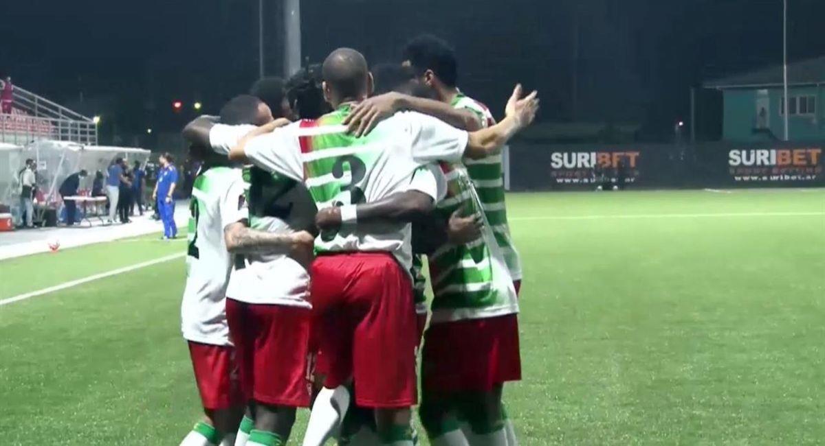 Selección de Surinam. Foto: Twitter