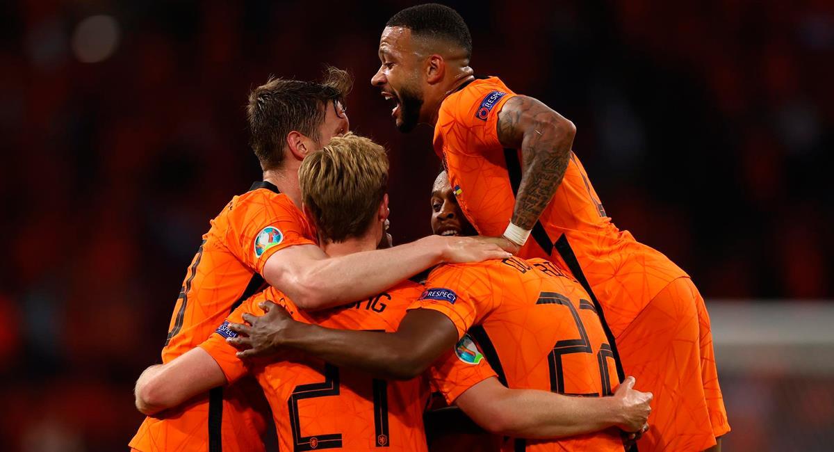 Wout Weghorst anotó el segundo gol para la 'Naranja Mecánica'. Foto: EFE