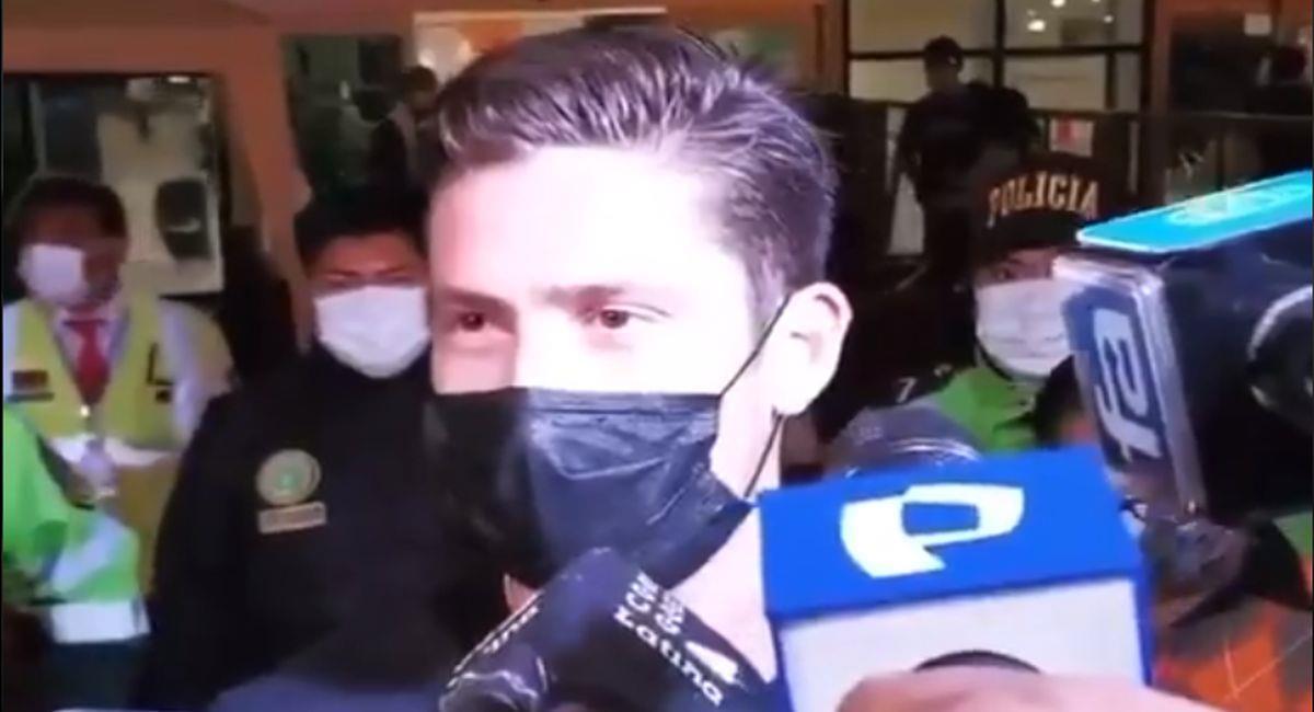 Santiago Ormeño se encuentra en nuestro país. Foto: Twitter