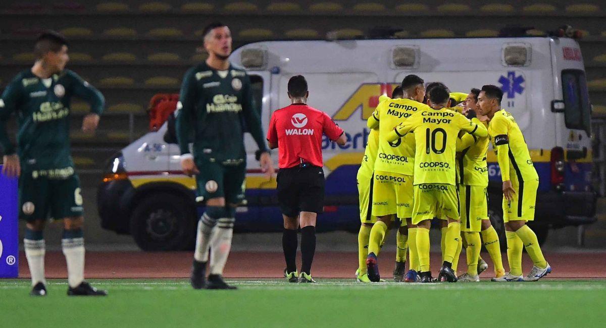 Coopsol sorprendió a Universitario en la copa Bicentenario. Foto: Twitter Liga Profesional