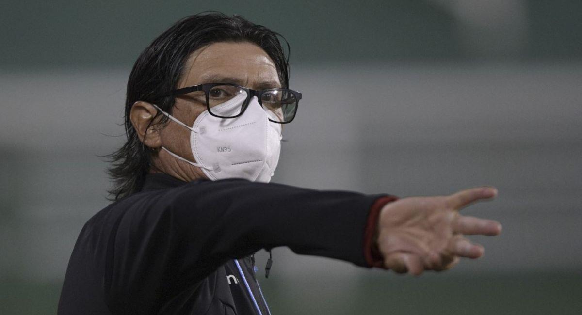 Ángel Comizzo, entrenador de Universitario. Foto: Andina