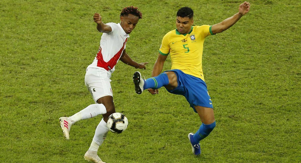 Perú volverá a enfrentarse a Brasil en la Copa América. Foto: Twitter