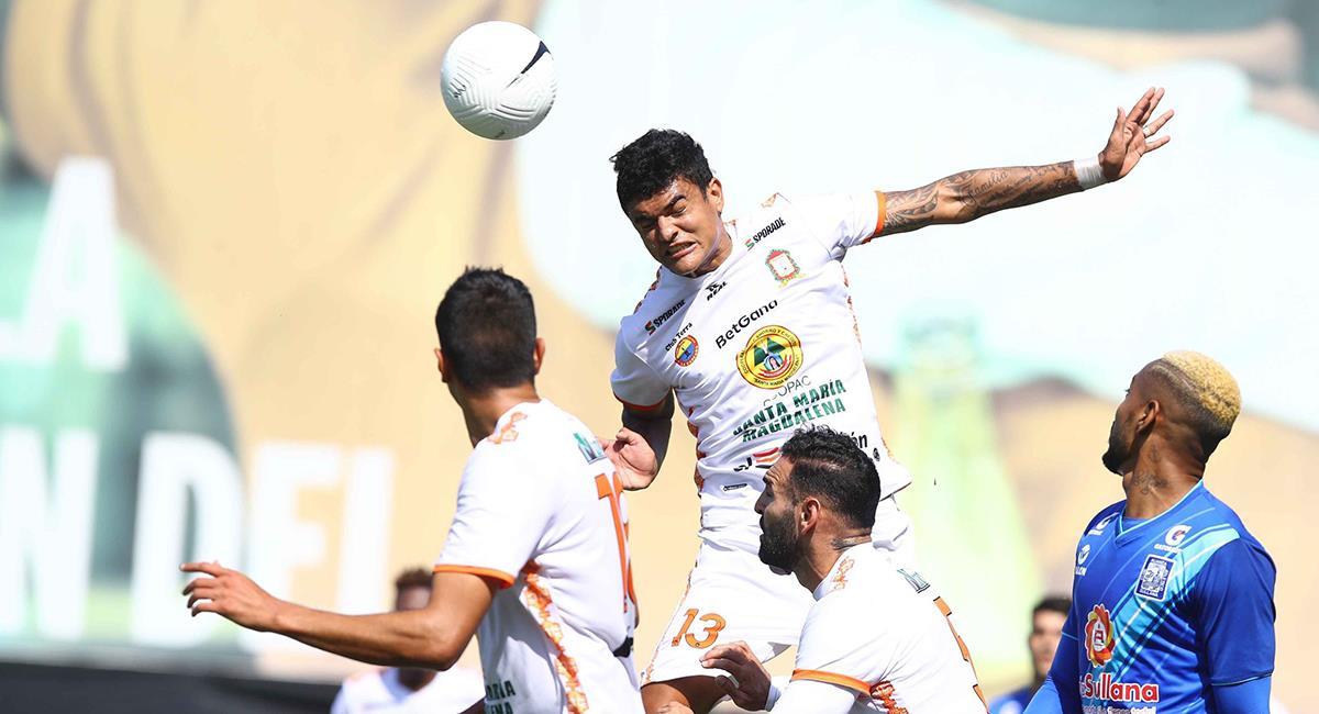 Ayacucho FC sufrió más de la cuenta ante los de Sullana. Foto: Twitter @LigaFutProf