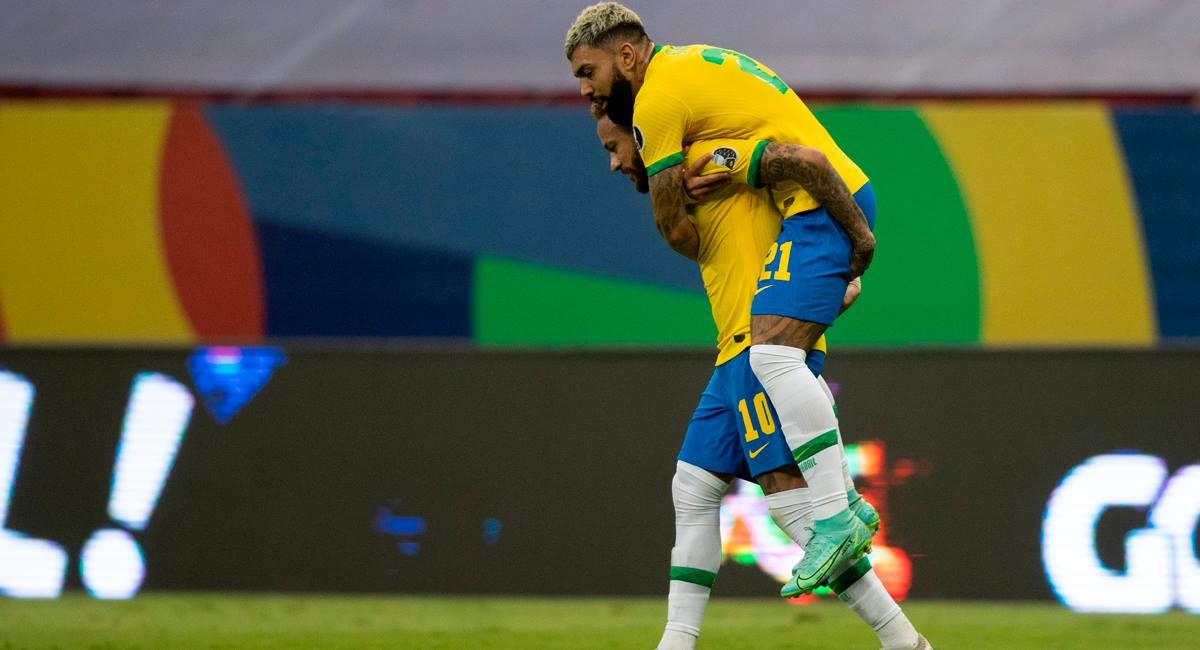 Neymar y Gabigol jugarán ante Perú. Foto: Prensa CBF