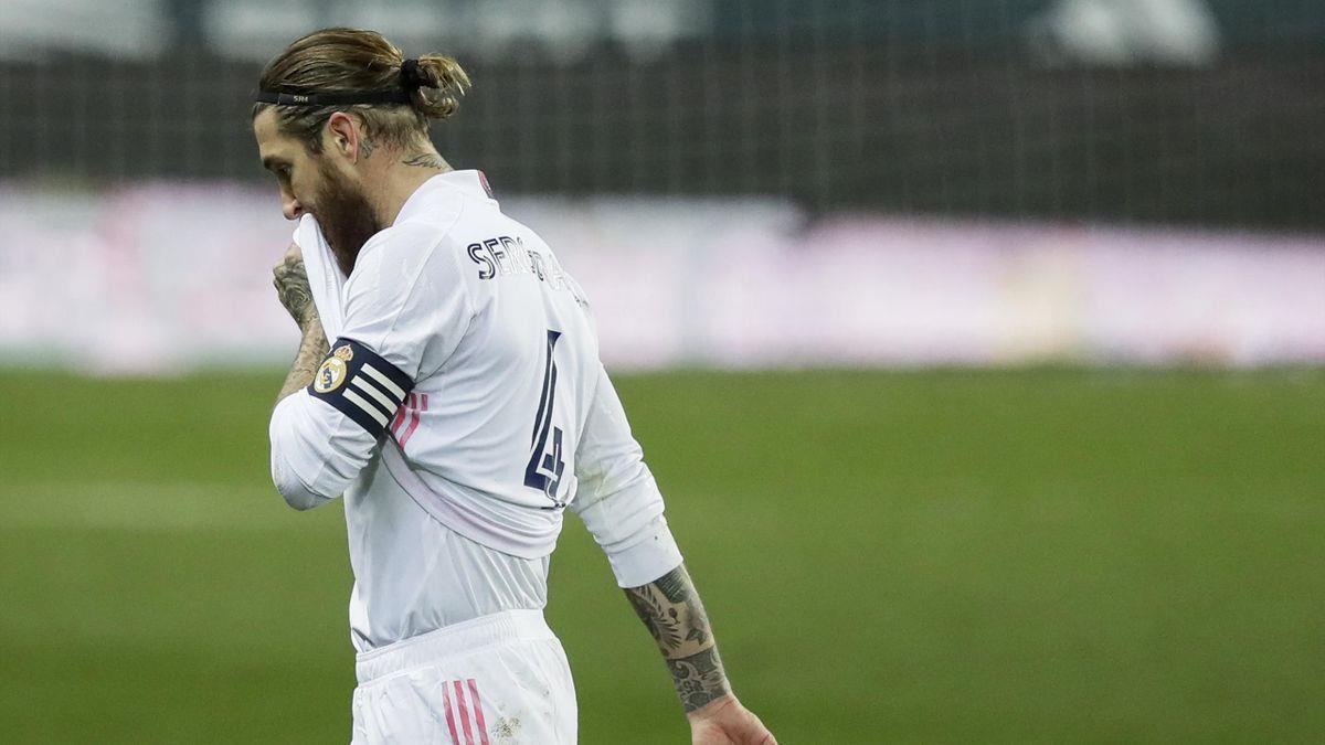 Sergio Ramos se va del Real Madrid. Foto: EFE