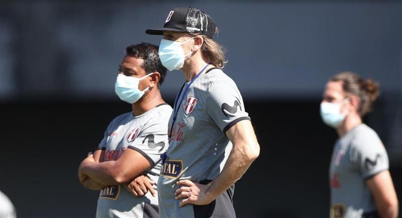 Gareca rescató cosas positivas de Perú ante Brasil