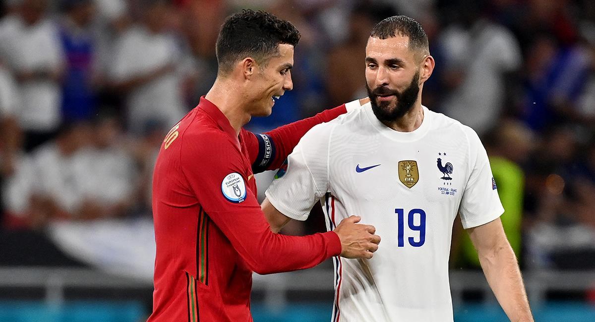 Portugal y Francia a octavos de final. Foto: Twitter @EURO2020