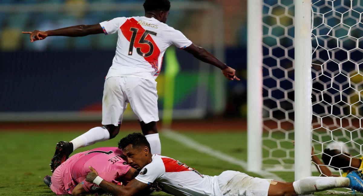 Perú supo sumar ante Ecuador en la Copa América. Foto: EFE