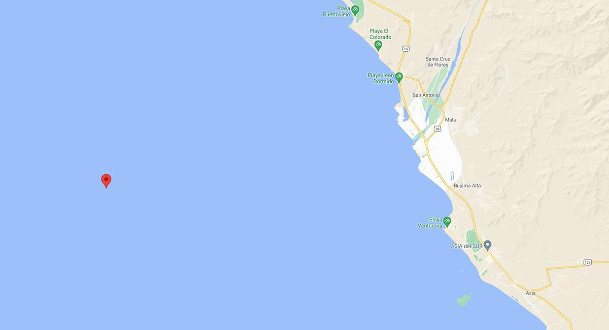 Sismo de 3.6 en Lima. Foto: Google Maps