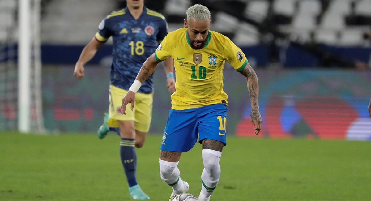 Neymar suplente ante Ecuador. Foto: EFE