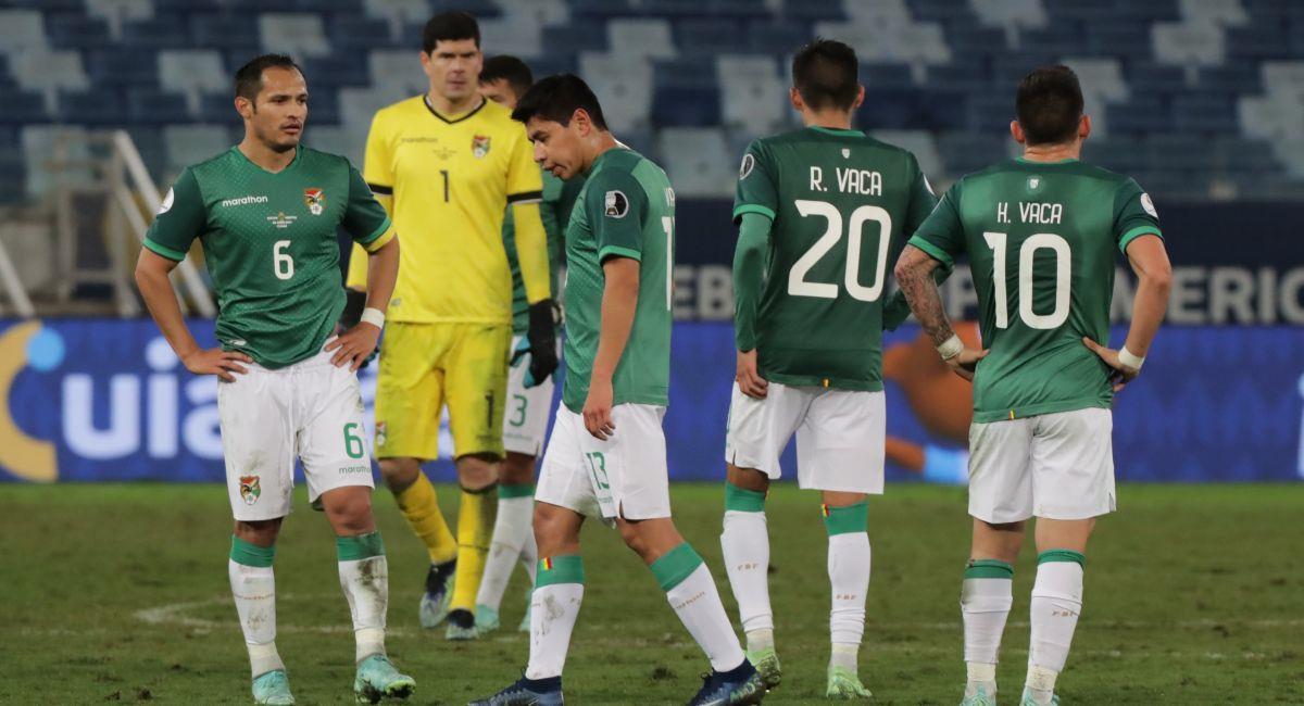 Bolivia es una de las eliminadas de la Copa América. Foto: EFE