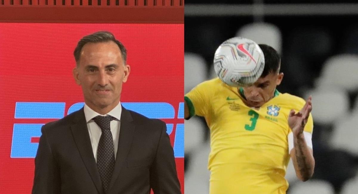 Latorre habló sobre la jugada de Thiago Silva. Foto: EFE efe