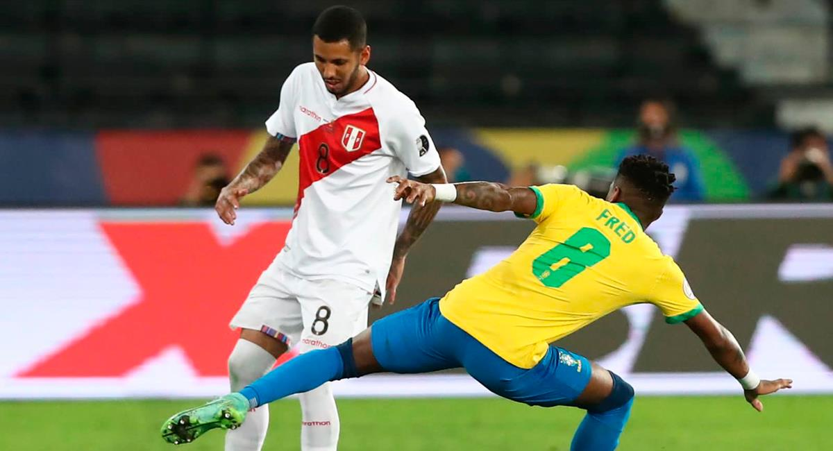 Sergio Peña se mostró tranquilo por partido ante Brasil. Foto: Twitter @SeleccionPeru