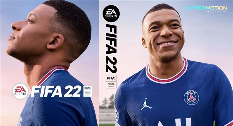 Mbappé es portada del FIFA 22 con camiseta del PSG