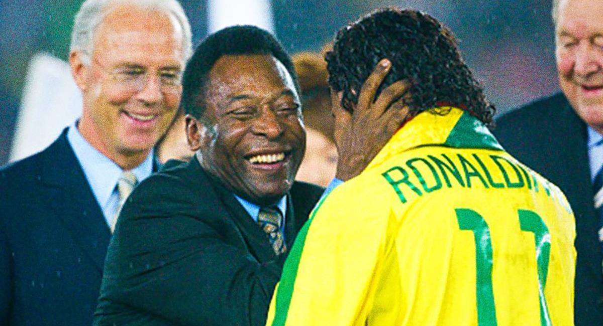 Pelé y su deseo en la final de la Copa América. Foto: Twitter @Pele