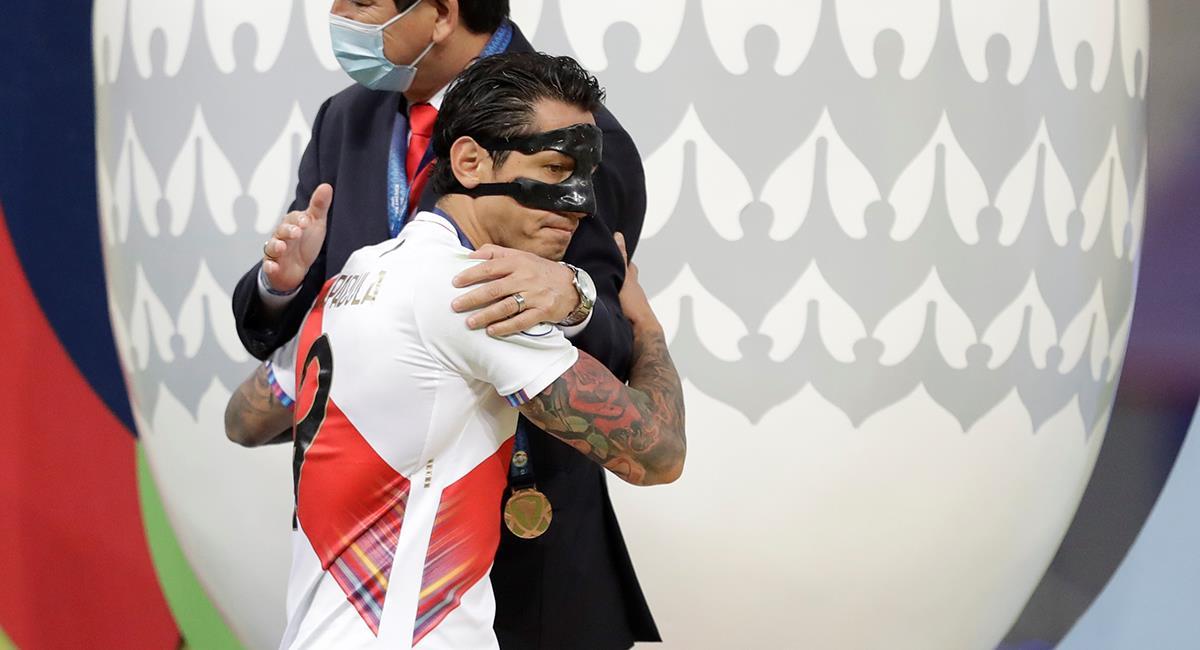 Gianluca Lapadula fue el goleador de la Selección Peruana. Foto: EFE