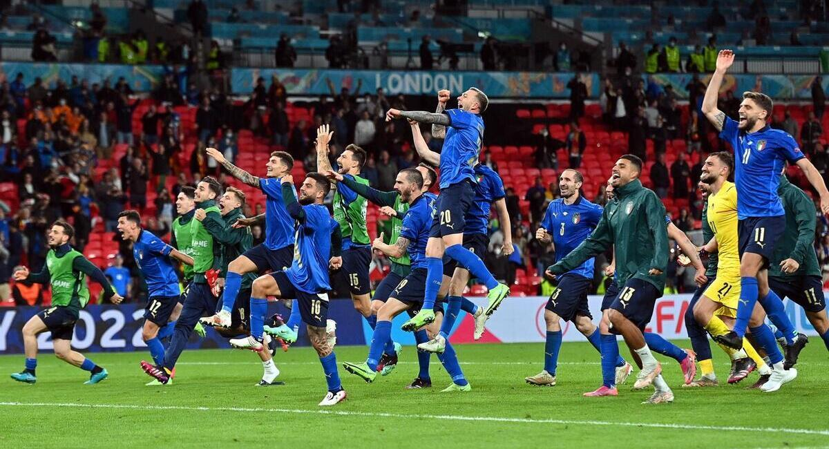 Italia quiere conquistar la Eurocopa. Foto: EFE
