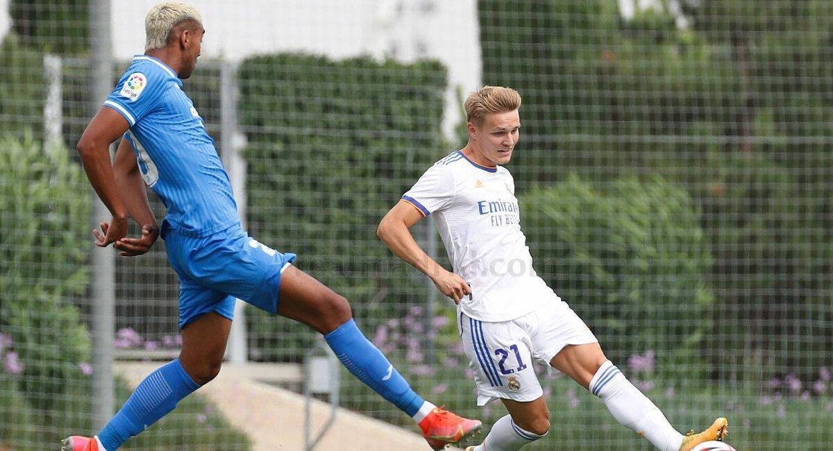 Fuentes jugó ante el Real Madrid. Foto: Fuenlabrada