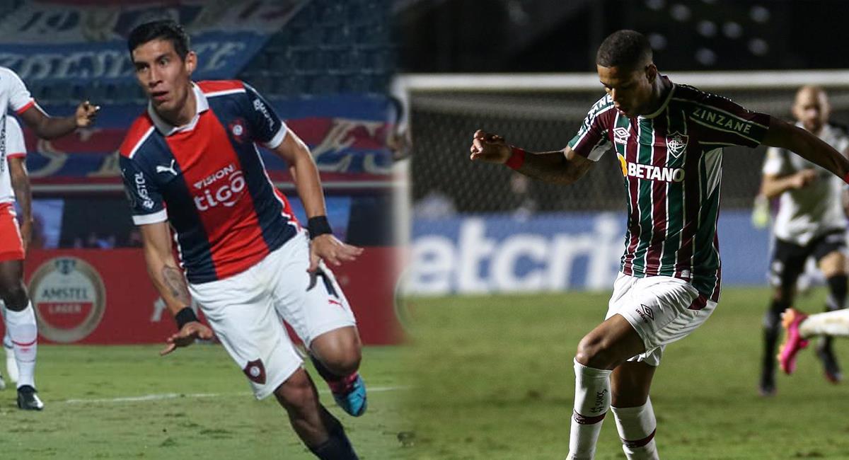 Duelo atractivo a jugarse en Asunción. Foto: Twitter Cerro Porteño / Fluminense