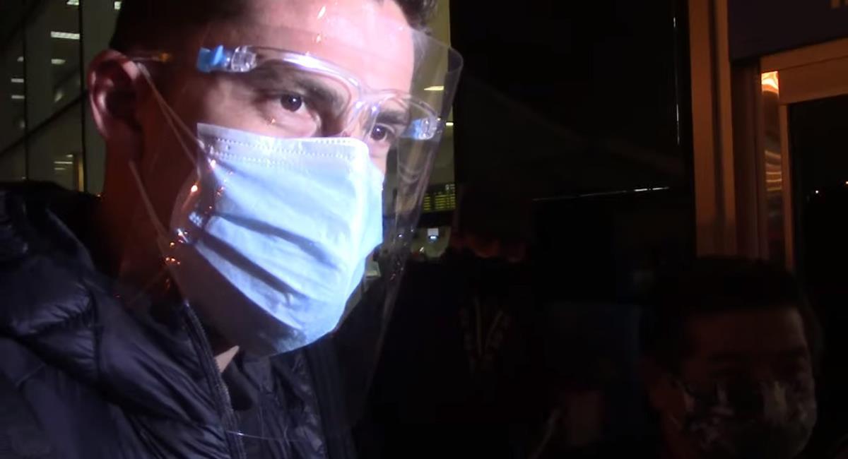 Santiago Ormeño regresó a México. Foto: Youtube Entre Bolas